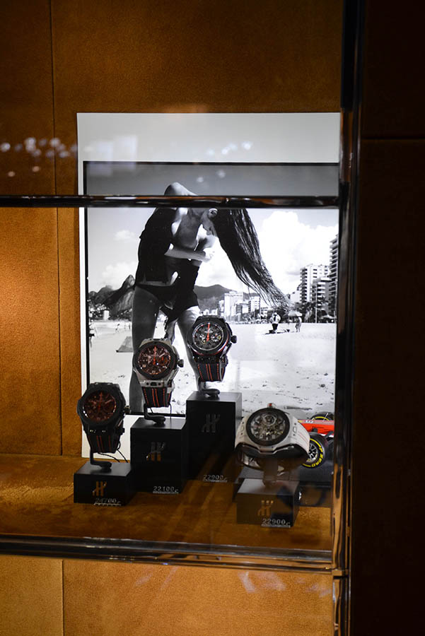 "Hublot love art, ""The Ipanema Girl"""