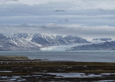 """Glacier"", Ny Alesund, Spitzberg Island, Northest Arctic Village, © Loïc Dorez."