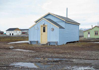 """Arctic house"", Ny Alesund, Spitzberg Island, Northest Arctic Village, © Loïc Dorez."