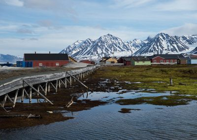 """Ny-Alesund pearl of arctic"", Ny Alesund, Spitzberg Island, Northest Arctic Village, © Loïc Dorez."