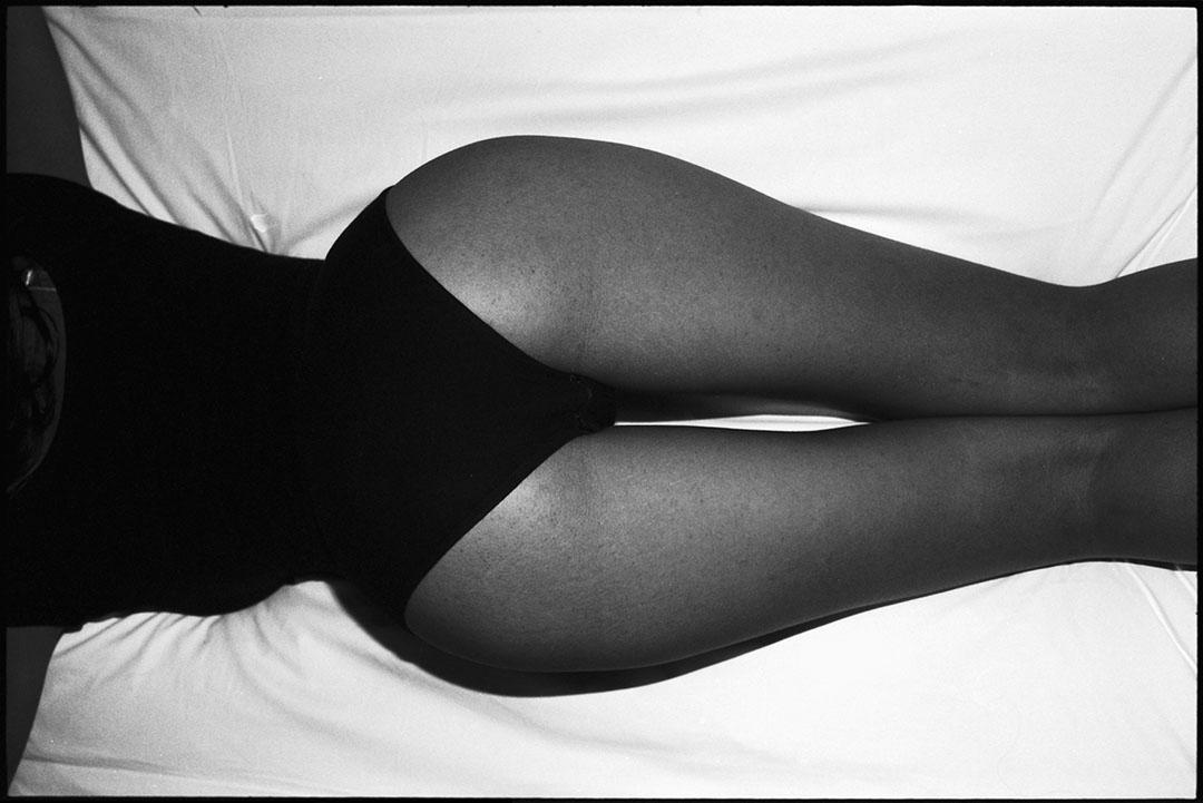 Model test shoot with french beauty Nawel, © Loïc Dorez.