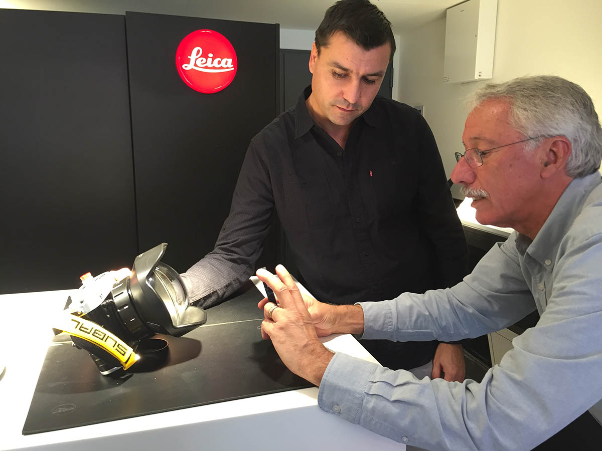 Leica Store Genève discovering the Subal for Leica underwater housing, © Loïc Dorez.
