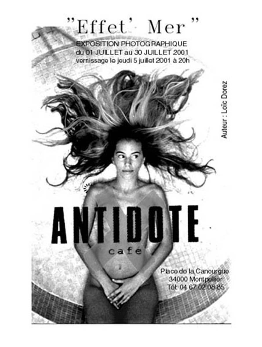 2001 - « EFFET MER » – ANTIDOTE – PLACE DE LA CANOURGUE – MONTPELLIER – FRANCE