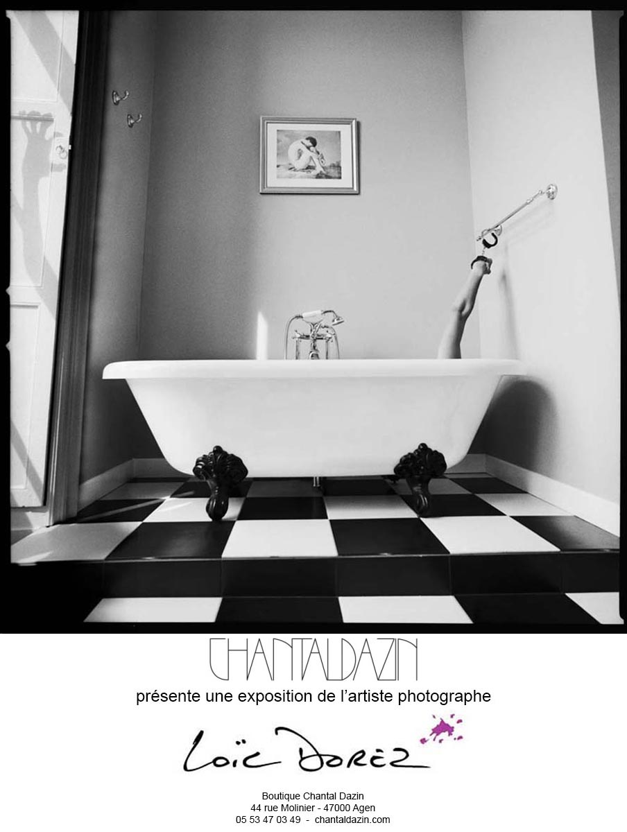 2006 - « BUT WHAT HAPPENED IN THE BATH ROOM ? » – ESPACE CHANTAL DAZIN – AGEN – FRANCE