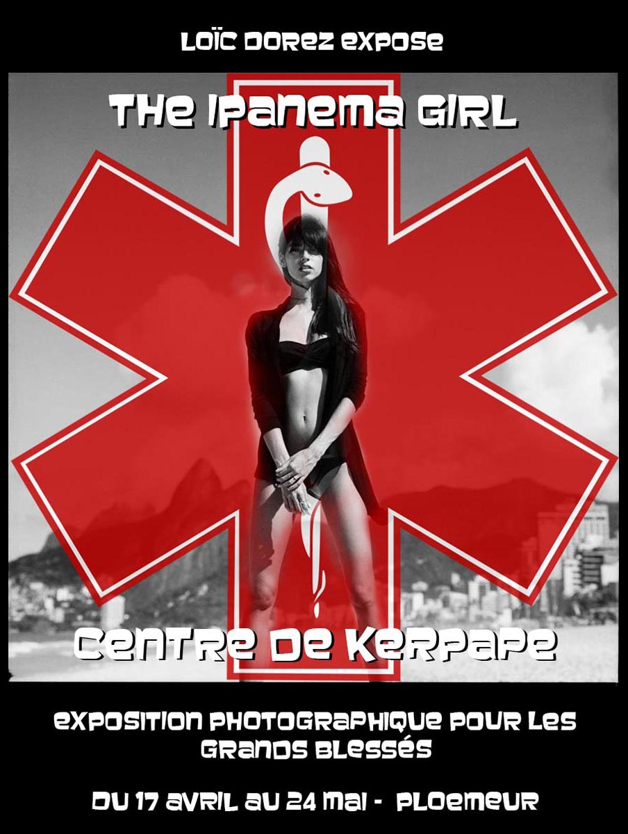 2014 - « THE IPANEMA GIRL » – CENTRE DES GRANDS BLESSÉS DE KERPAPE – PLOEMEUR – FRANCE