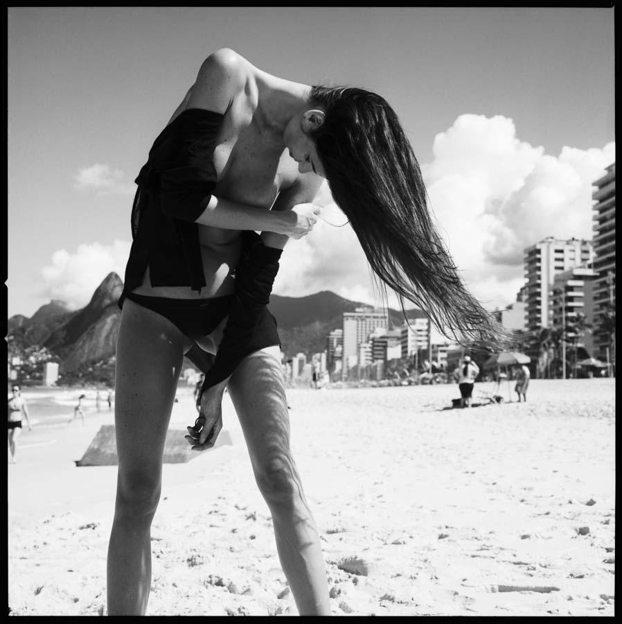 """The girl from Ipanema"", © Loïc Dorez."