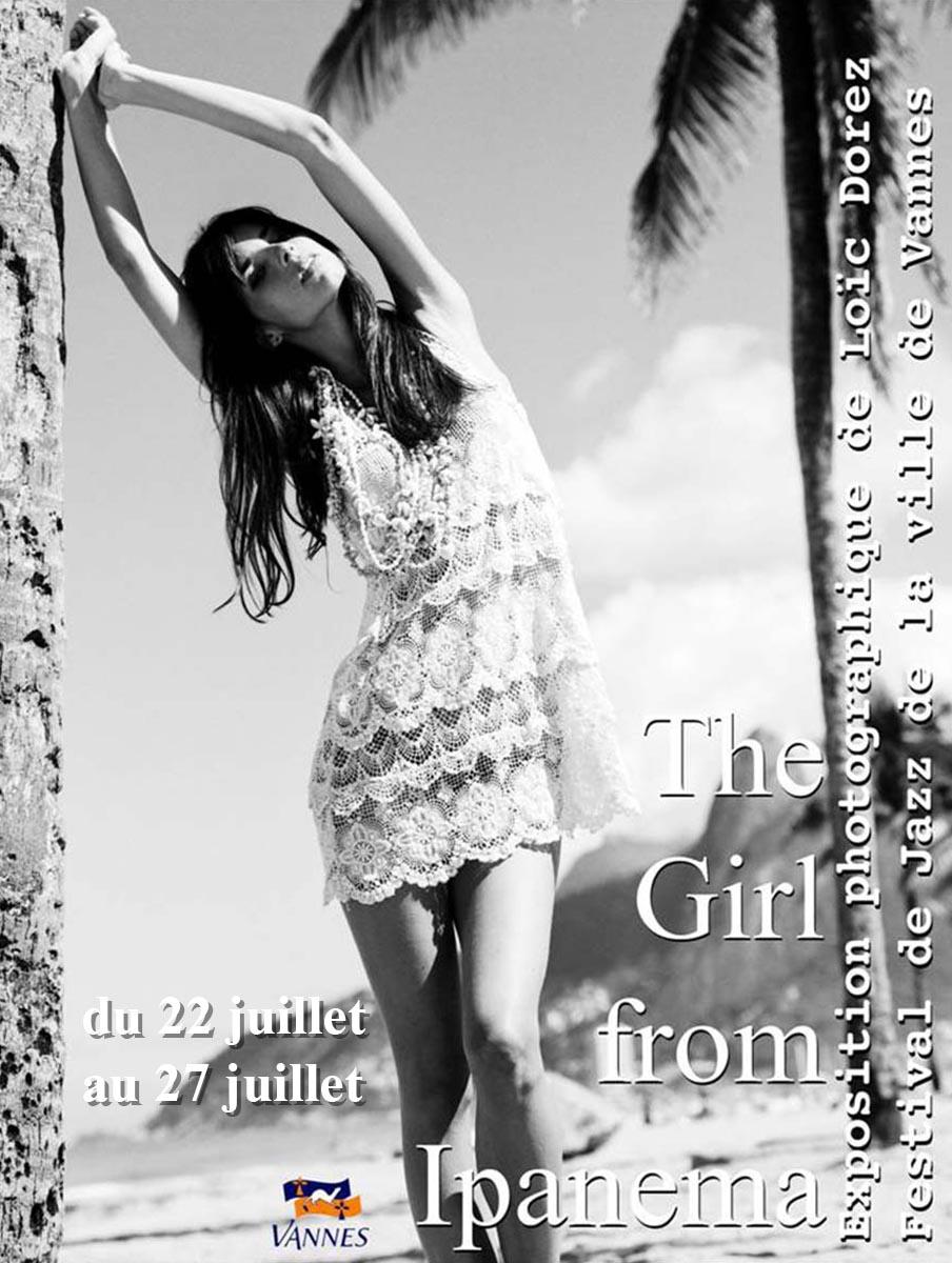 2013 - « THE IPANEMA GIRL » – ARTISTE INVITÉ D'HONNEUR VILLE DE VANNE FESTIVAL DE JAZZ – VANNE – FRANCE