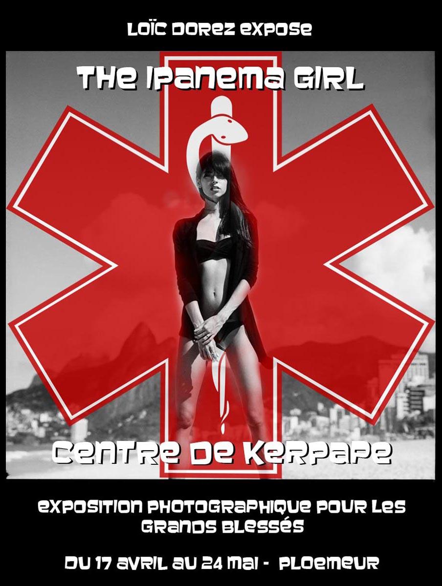 2014 - « THE IPANEMA GIRL » – CENTRE DES GRANDS BLESSÉS DE KERPAPE – PLOEMEUR – FRANCE